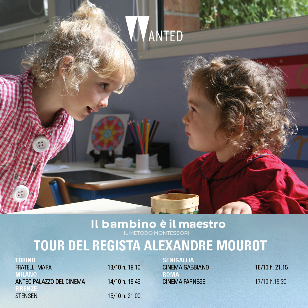 Tour regista Montessori post 9.10. opera